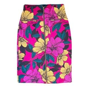 Worthington | Floral Knee Length Pencil Skirt